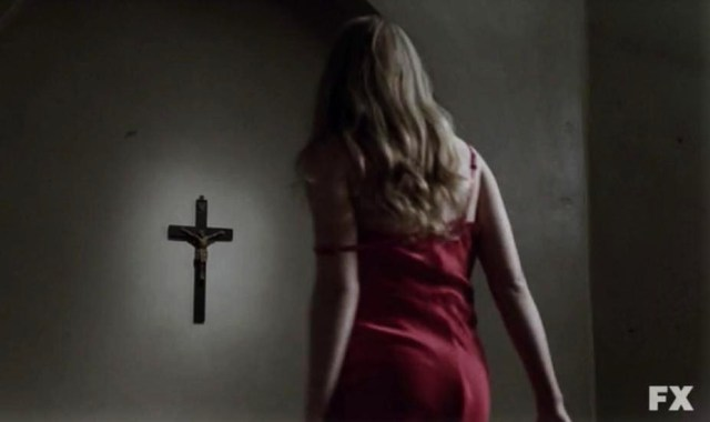 Sister Mary Eunice (Lily Rabe) stars in Episode 6 of American Horror Story: Asylum