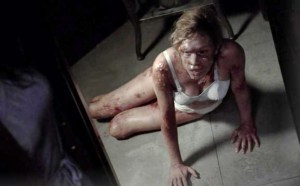 Chloe Sevigny stars as Shelly the nymphomaniac in FX's American Horror Story Asylum