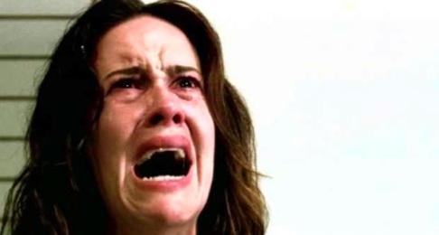 Sarah Paulson as Lana in FX American Horror Story Asylum
