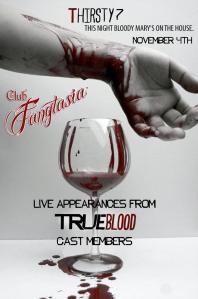 Club Fangtasia True Blood Halloween party at the Seamus O'Toole's Irish Pub