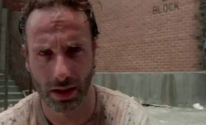 Andrew Lincoln stars as Rick Grimes in AMD's The Walking Dead
