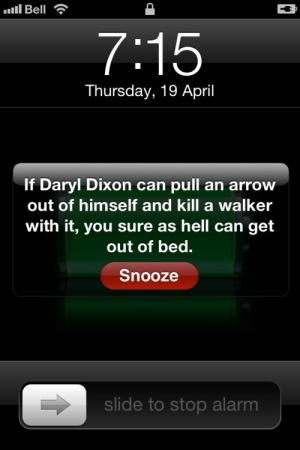AMC's The Walking dead: Daryl Dixon (Norman Reedus) Motivational Meme 2