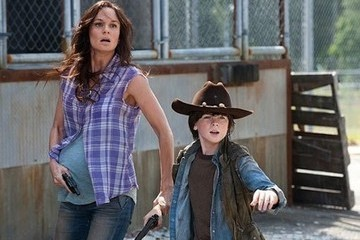 Sarah Wayne Callies stars as Lori Grimes in AMD's The Walking Dead