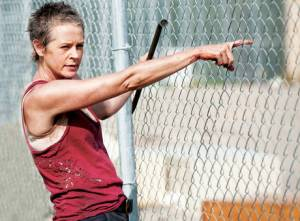 Carol (Melissa McBride) in AMC's The Walking Dead
