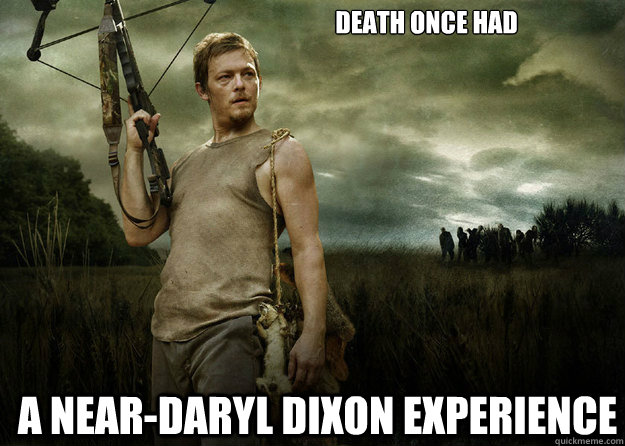 Death Once Had A Near Daryl Dixon Experience. AMCu0027s The Walking Dead: ...