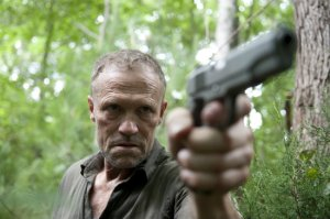 Michael Rooker stars as Merle Dixon in AMC's The Walking Dead