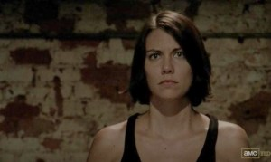 Maggie (Lauren Cohan) in AMC's The Walking Dead