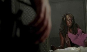 Michonne (Danai Gurira) in AMC's The Walking Dead