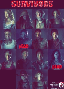 AMC's The Walking Dead list of Survivors