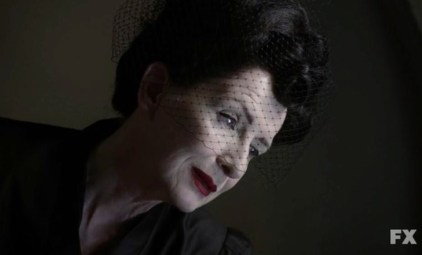 The Angel of Death (Frances Conroy) in Episode 7 of FX's American Horror Story