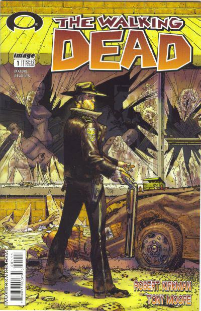 The Walking Dead comic series by  Robert Kirkman