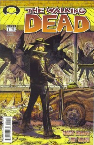 The Walking Dead comic series by  Robert Kirkman