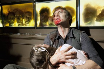The Governor (David Morrissey) is made to suffer in AMC's The Walking Dead