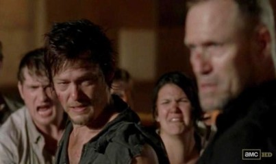 'So Bro, what do you think of zombie fight club now?' Daryl (Norman Reedus) asks Merle (Michael Rooker) in AMC's The Walking Dead