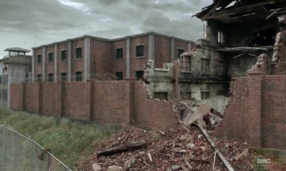 The Prison in AMC's The Walking Dead