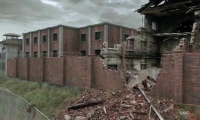 The Prison in AMC's The Walking Dead