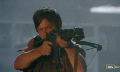Last known sighting of Daryl Dixon (Norman Reedus) in AMC's The Walking Dead