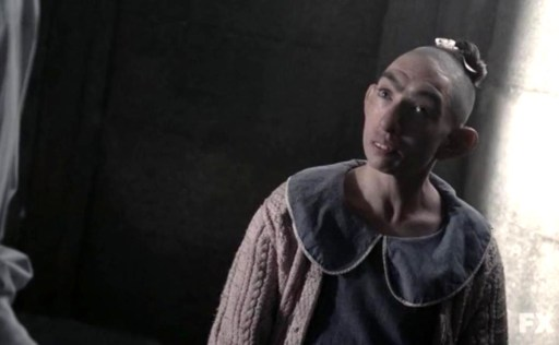 Yay, it's Pepper! (Naomi Grossman) in Episode 9 of FX's American Horror Story: Asylum