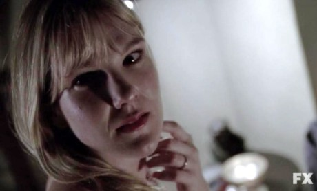 Lily Rabe plays Sister Mary Eunice in FX's American Horror Story: Asylum Episode 10