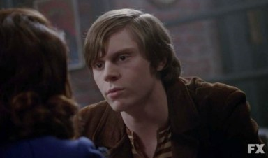 Evan Peters stars as Kit Walker in Episode 12 of FX's American Horror Story: Asylum