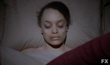 Britne Oldford stars as Alma in Episode 12 of FX's American Horror Story: Asylum