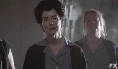 Frances Conroy stars in American Horror Story: Asylum. Episode 8