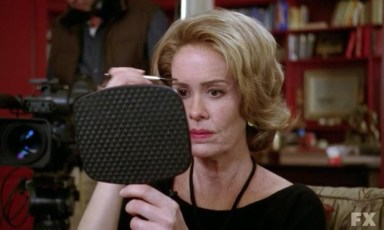 Lana Winters (Sarah Paulson) in episode 13 of FX's American Horror Story: Asylum