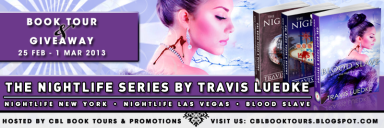 Blood Slave by Travis Luedke Tour banner