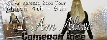 I Am Alive Blog Tour Banner
