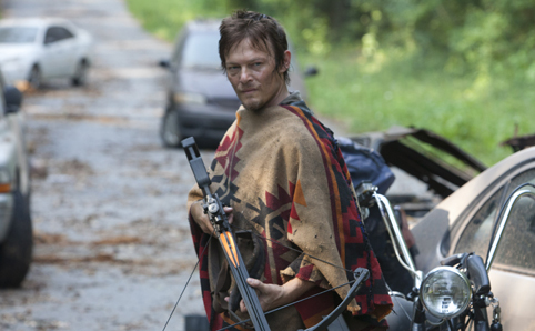 Norman Reedus stars as Daryl Dixon in AMC's The Walking Dead