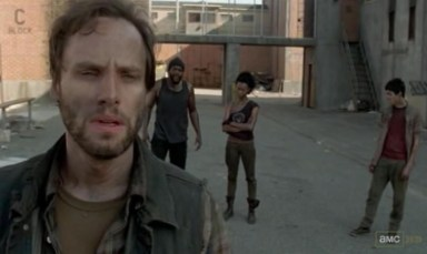 Allen (Daniel Thomas May) in episode 9 of AMC's The Walking Dead