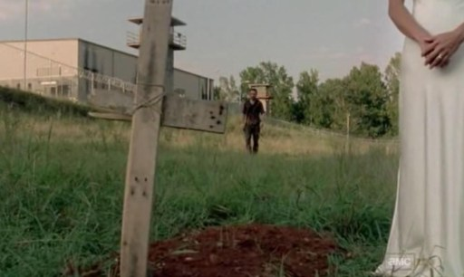 Rick (Andrew Lincoln) ventures into Crazy Town in Episode 10 of AMC's The Walking Dead