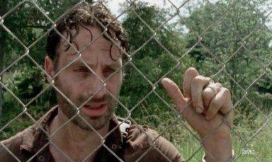 Rick (Andrew Lincoln) in Episode 10 of AMC's The Walking Dead