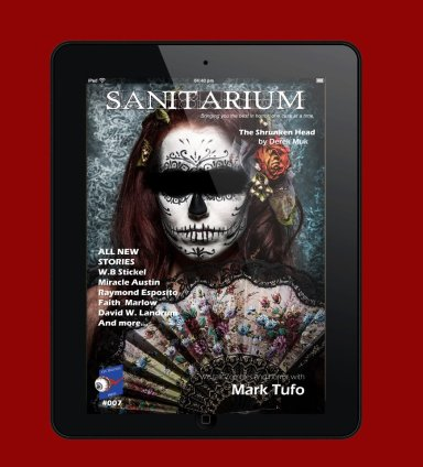 Issue 7 of Sanitarium Horror Magazine