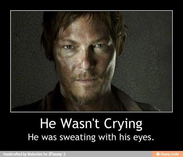 Daryl Dixon Meme (Episode 15 Of AMCu0027s The Walking Dead)