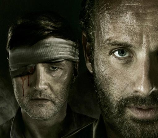 An eye for an eye Season finale of AMC's The Walking Dead - promo poster