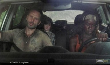 Rick (Andrew Lincoln) goes on a road trip in Episode 12 of AMC's The Walking Dead