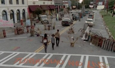 Crazy King County in Episode 12 of AMC's The Walking Dead