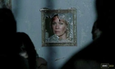 Andrea (Laurie Holden) escapes in Episode 14 of AMC's The Walking Dead