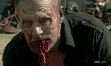 Merle (michael Rooker) turns in Episode 15 of AMC's The Walking Dead