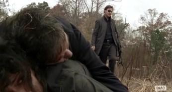 Karen (Melissa Ponzio) survives the slaughter in Episode 16 of AMC's The Walking Dead