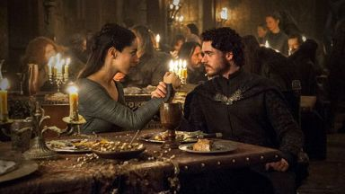 Rob Stark in HBO's Game of Thrones, Season 6, Episode 9