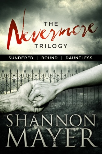 The Nevermore Trilogy by Shannon Mayer (Genre: Romantic Suspense)
