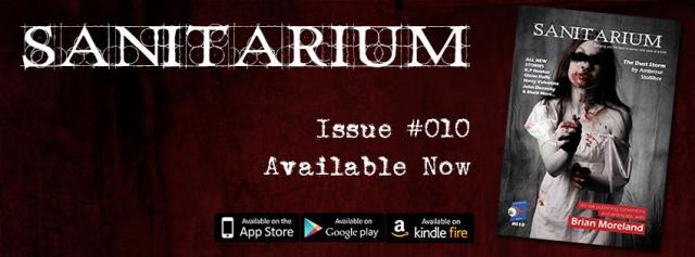 Sanitarium Issue 10 Banner