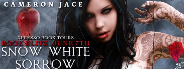 Snow White Sorrow by Cameron Jace. Book Blitz Banner