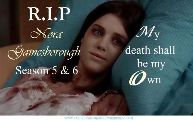 RIP Nora Gainesborough quote