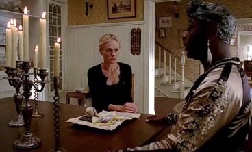 Sookie (Anna Paquin) calls on Lafayette (Nelsan Ellis) in HBO's True Blood Season 6, Episode 5, entitled 'Fuck the Pain Away'