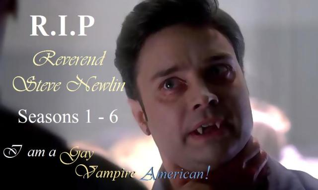 RIP Steve Newlin Season 6, Episode 9, entitled 'Life Matters'