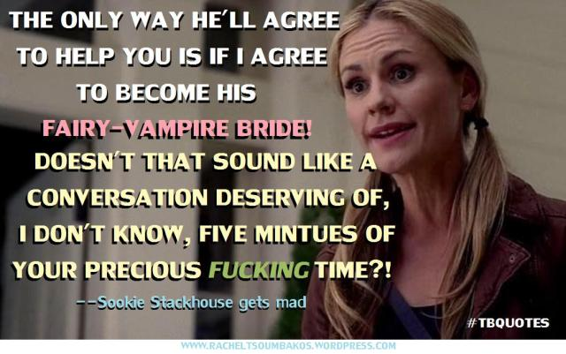 TB S06E08 5 Sookie Stackhouse quote