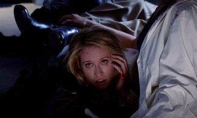 Sarah Newlin (Anna Camp) plays dead in HBO's True Blood Season 6, Episode 9, entitled 'Life Matters'